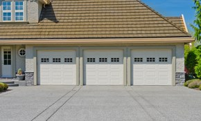 $75 for a Garage Door Cleaning