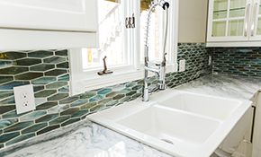 $120 for Kitchen or Lavatory Faucet Replacement