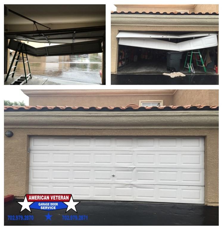 American veterans garage doors las vegas nv 89123 for Door 55 reviews