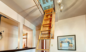 $395 for Folding Attic Stairs Replacement