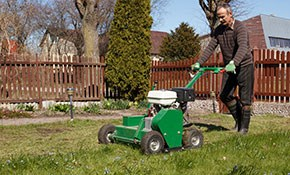 $270 for Lawn Aeration, Overseeding, and...