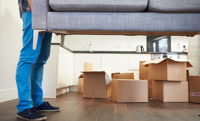 $160 for In-Home Furniture Moving, a Two-Person...