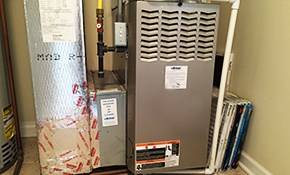 $375 for a Furnace or A/C with Air Duct Cleaning...