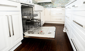 $160 for Dishwasher Installation Labor