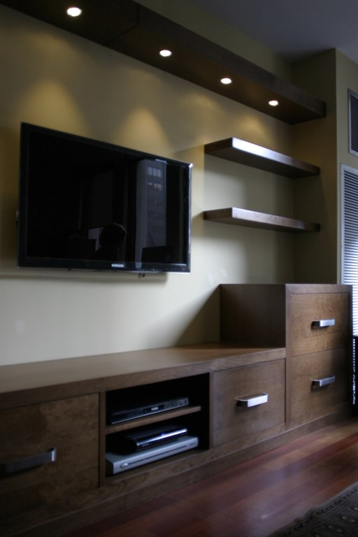 Custom Entertainment Center 3