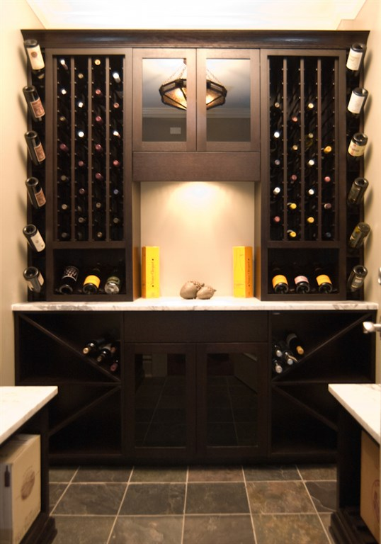 Custom Wine Rack 1