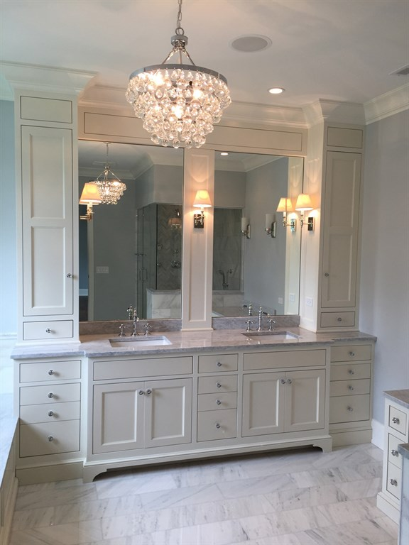 Custom Bathroom Vanity 1