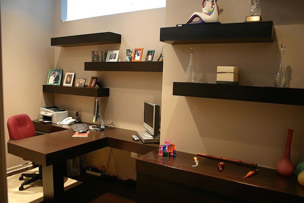 Custom Home Office Desk 1