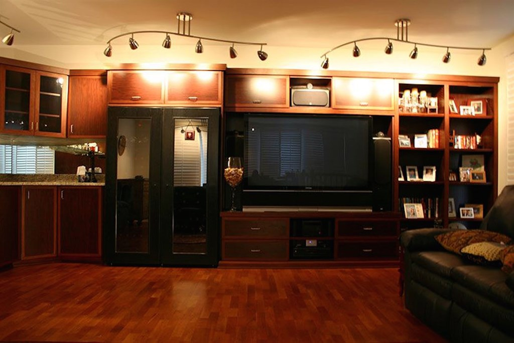 Custom Entertainment Center 2