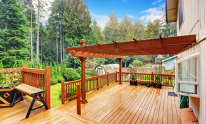 $349 for $1,000 Toward Deck Installation
