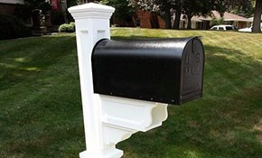 $440 for Mayne Dover/Janzer Mailbox and Installation...