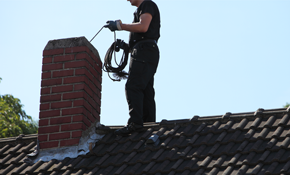 $149 for Level 1 Chimney Inspection and $100...