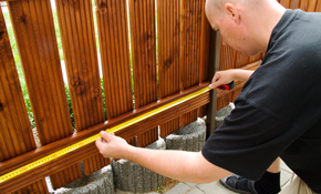 $50 for $100 Toward Fence Staining
