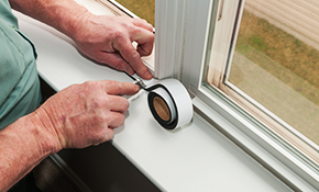 $1,349 for 4 Energy Efficient Vinyl Windows...