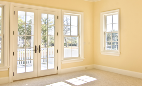 $2,295 ECO Impact French door or CGI Impact...