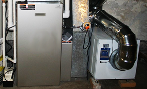 $1,599 for a New Gas Furnace Installed