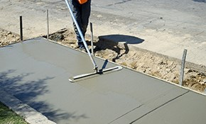 $999 for Concrete Staining and Sealing Package...
