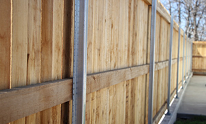 $3,150 for 150 Feet Of Wood Privacy Fencing