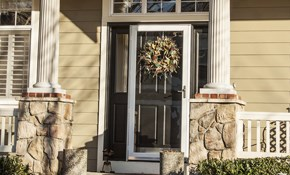$99 for Weatherization of 2 Exterior Doors,...