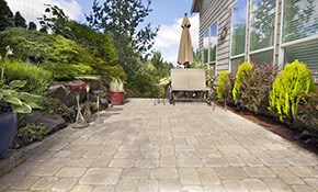 $788 for a Paver Stone Patio or Walkway Delivered...