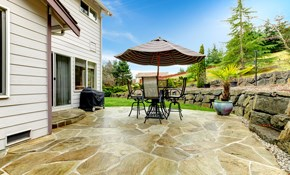 $3,399 Stamped Concrete Patio, Walkway, or...