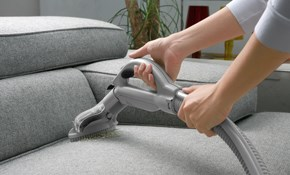 $129 for Sofa and Love Seat Upholstery Cleaning