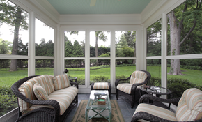 $5,900 Screened Porch