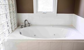 $199 for Tile and Grout Cleaning and Re-caulking...
