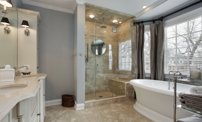 $1,499 for a Ceramic Tile Shower and Flooring...
