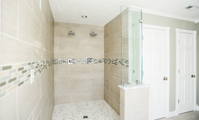 $1,599 for a Ceramic Tile Shower Replacement,...