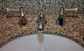 $579 for New Granite Bath Vanity Countertop...