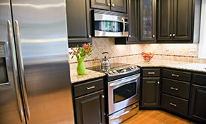 $298 Kitchen Appliance Tune-Up and Cleaning