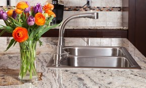 $275 for Polishing and Sealing Granite Kitchen...
