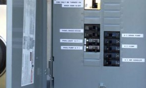 $1,275 for an Outdoor Main Breaker Panel...