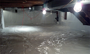 $200 Crawl Space Waterproofing and/or Encapsulation...