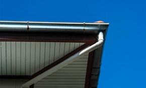 $499 for New 5-Inch Seamless Gutter and Downspout...