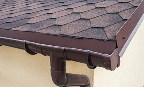 $599 for New 6-Inch Seamless Gutter and Downspout...