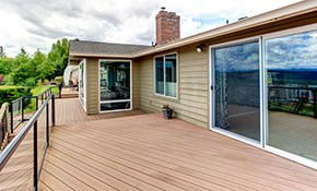 $499 for 100 Square Feet of Deck Refacing...