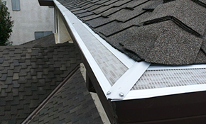 $405 for 100 Feet of Gutter Guard Installation,...