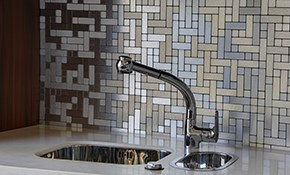 $1,350 for a New Ceramic Tile Backsplash,...
