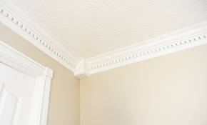 $380 for Painted Crown Molding Installation