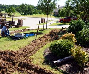 below-ground irrigation systems