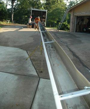 seamless gutter manufacture