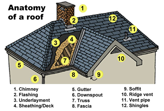 Anatomy Of A Roof Angies List