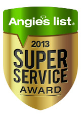 Marshall Roofing 2013 Super Service Award